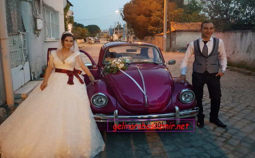 İzmir Eski Model Gelin Arabası