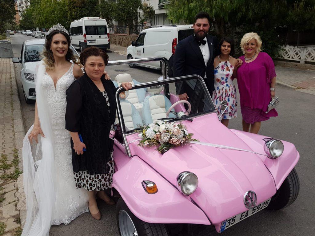 izmir kiralık düğün arabası