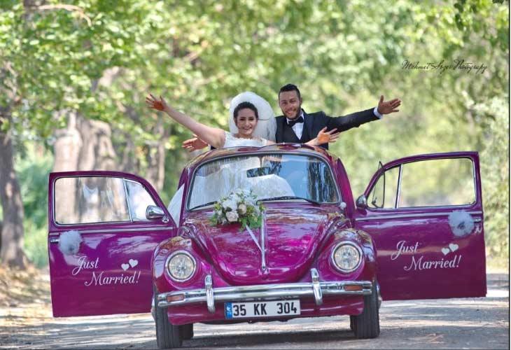 İzmir Düğün Gününüzde Şehir Turu Yapın